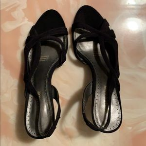 """Naturalizer """"Prissy"""" 7.5N Strappy Dressy Shoes"""